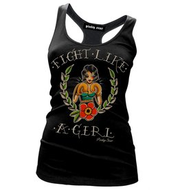 PINKY STAR PINKY STAR - Fight Like A Girl Racerback Tank