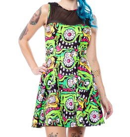 SOURPUSS - Mary Lu Fink Faces Dress