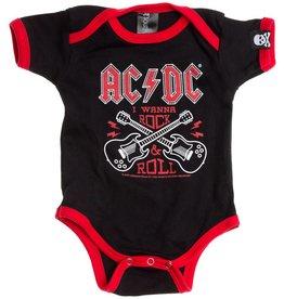 """SOURPUSS - One-piece AC/DC """"I Wanna Rock&Roll"""""""