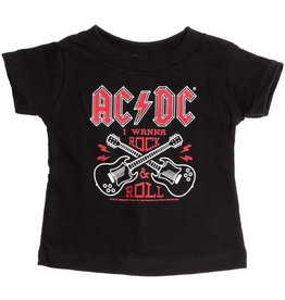 "SOURPUSS - Tee AC/DC ""I Wanna Rock n' Roll"""