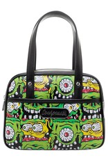SOURPUSS Mini Fink Faces Bowler Bag