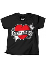 CARTEL INK CARTEL INK - Mom & Dad Heart Tee