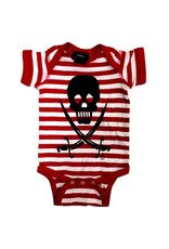 CARTEL INK - Skull & Swords Striped One-Piece