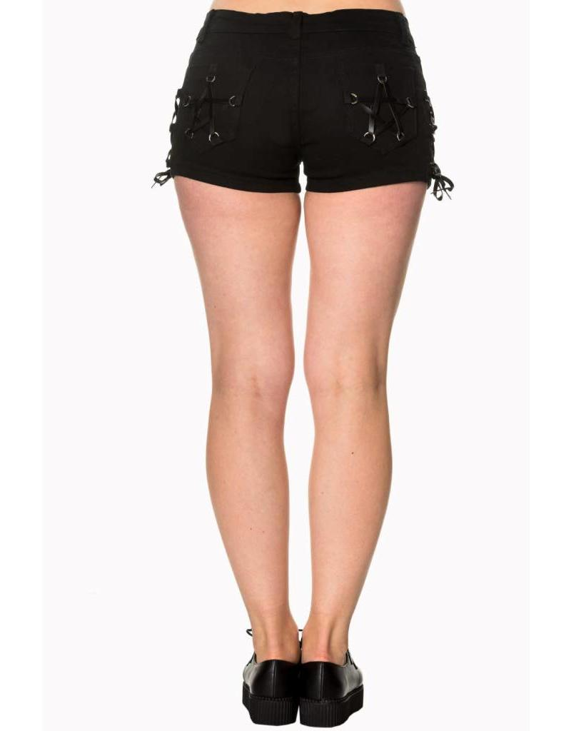 BANNED - Pentagram Black Short