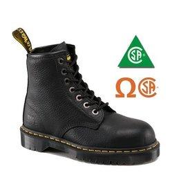 DR. MARTENS 7B10 BLACK CAP CSA 709B-R16820001