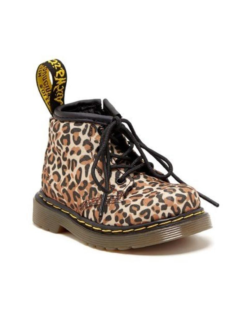 DR. MARTENS BROOKLEE B INFANTS TAN ZAIRE CANVAS Y400LEO-R15933221