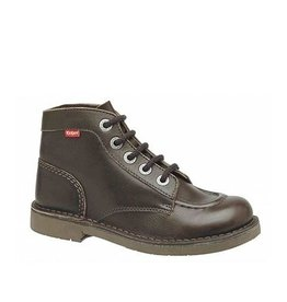 KICKERS KICK COL DARK BROWN K1485DB