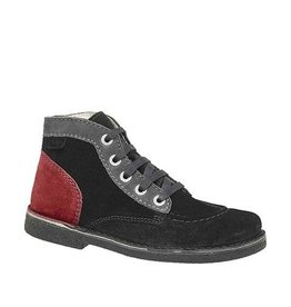 KICKERS LEGENDOKNEW BLACK GRAY GRAY DARK K1681NG