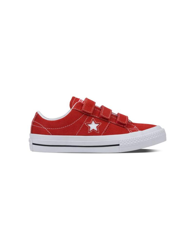CONVERSE ONE STAR 3V OX RED/WHITE/BLACK CWVOR-656133C