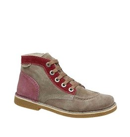 KICKERS LEGENDOKNEW BROWN CLR PINK FCE PINK K1681MR
