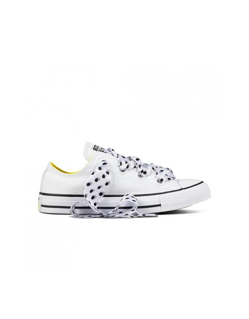 CONVERSE CHUCK TAYLOR BIG EYELETS OX WHITE/FRESH YELLOW C12BFY-560670C