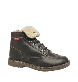 KICKERS KICK HEAT DARK BROWN K1684MFF