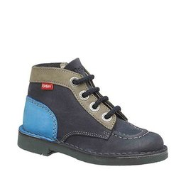 KICKERS KICK COLZ NAVY GRAY BLUE KN85MBB