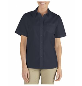 DICKIES Women`s Short Sleeve Stretch Work Shirt