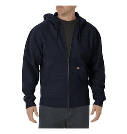 DICKIES Men's Fleece Full Zip Hooded Sweatshirt