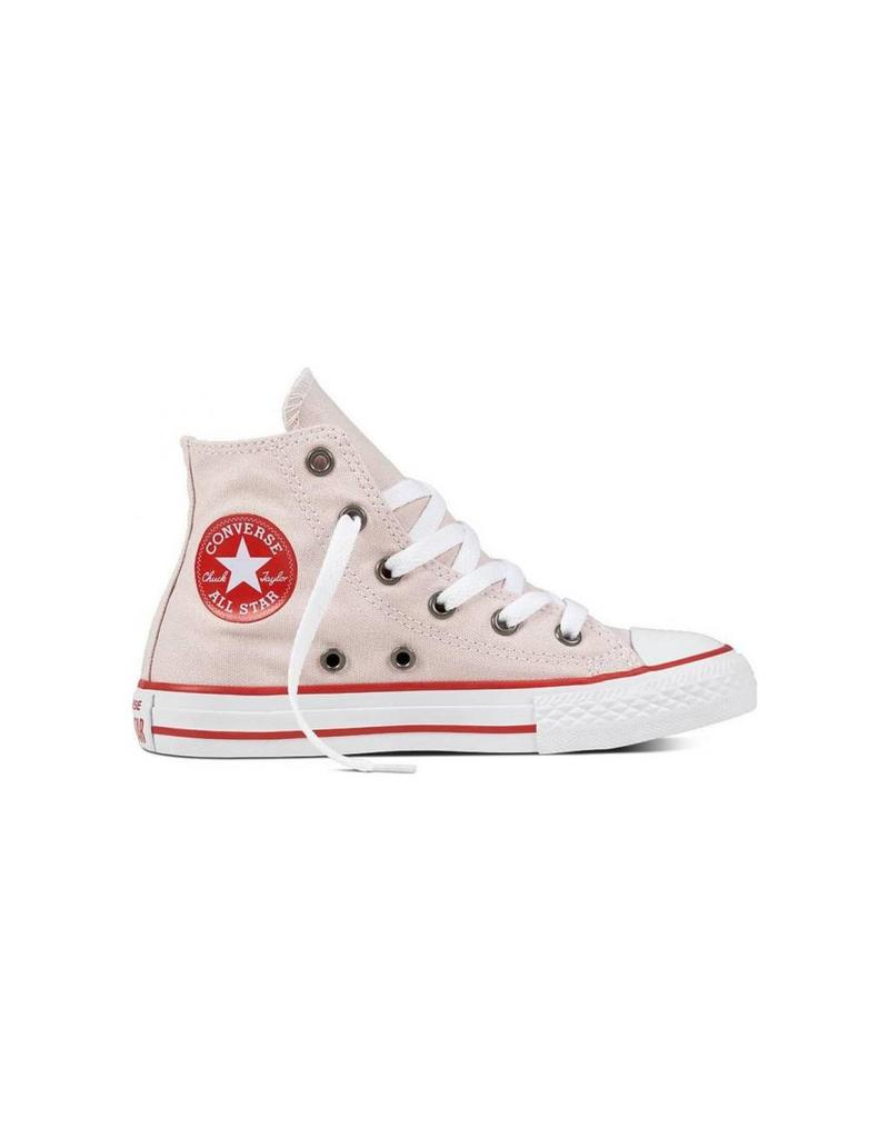 CONVERSE CHUCK TAYLOR HI BARELY ROSE/ENAMEL RED/WHITE CYBAE-660098C