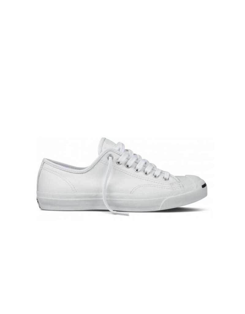 CONVERSE JACK PURCELL LEATHER OX WHTE/NAVY CC69W-1S961