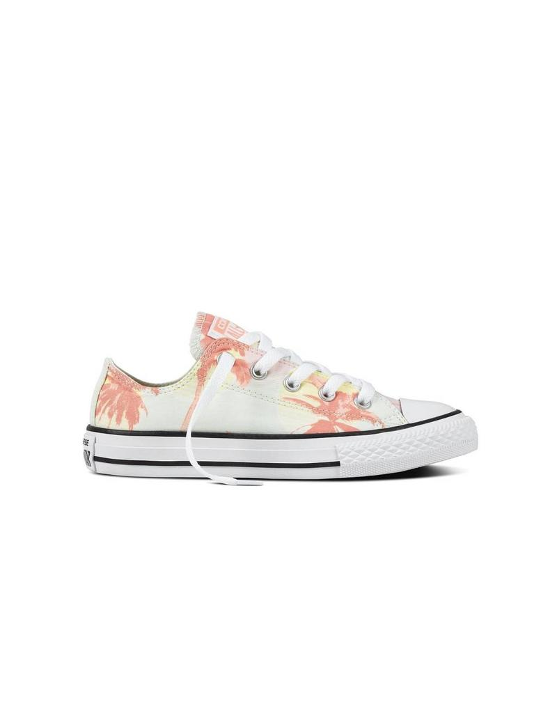 CONVERSE CHUCK TAYLOR OX BARELY GREEN/PALE CORAL/WHITE CYPALC-659959C