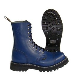 STEEL BOOT 10 EYELETS FULL NAVY CAP S1000FN