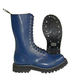STEEL BOOT 15 EYELETS FULL NAVY CAP S1500FN