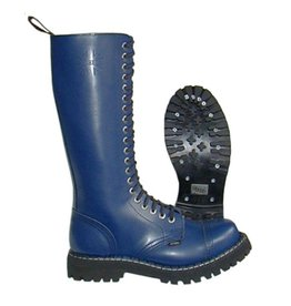 STEEL BOOT 20 EYELETS NAVY CAP S2000FN