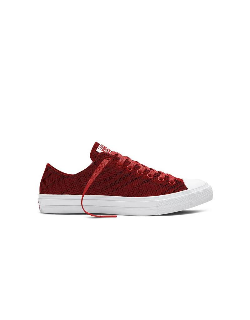 CONVERSE Chuck Taylor All Star  II OX RED BLACK WHITE CT2LRL-151090C
