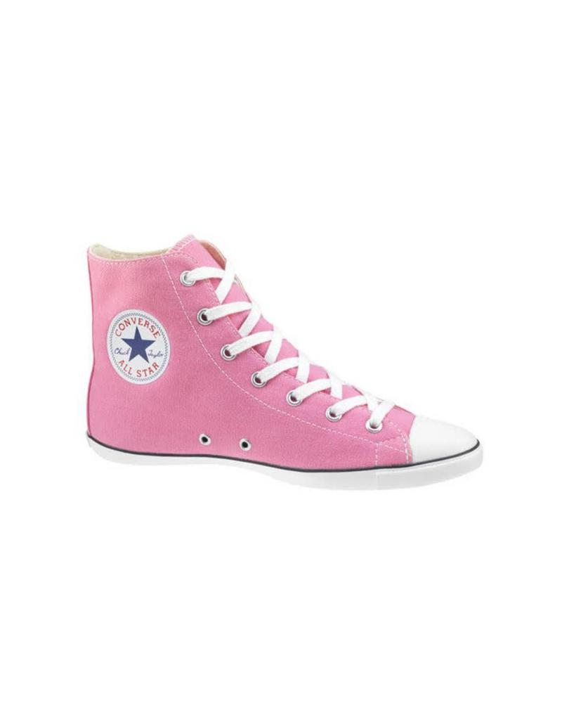CONVERSE Chuck Taylor All Star LIGHT HI PINK WHITE C9LP-511525