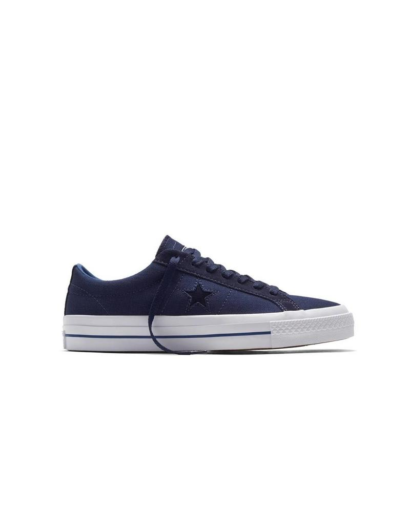 CONVERSE ONE STAR CANVAS OX OBSIDIAN/DARK BLUE C686DK-153708C