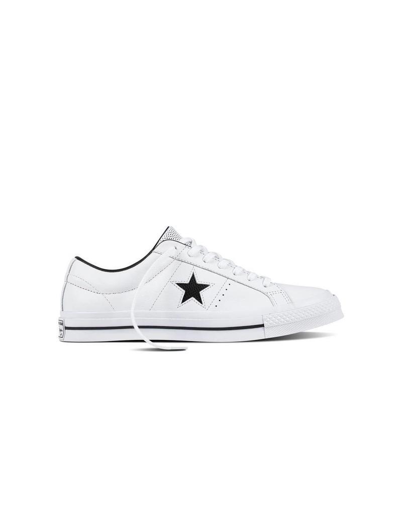 CONVERSE ONE STAR OX WHITE/BLACK/WHITE CC787W-158464C