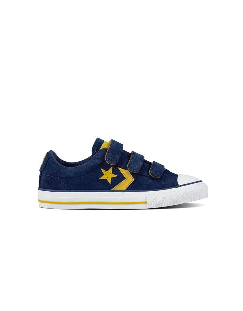 CONVERSE STAR PLAYER EV 3V OX NAVY/MINERAL YELLOW CY86VN-660035C
