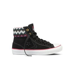 CONVERSE STAR PLAYER EV SOCK MID BLACK C73BRAS-132933C