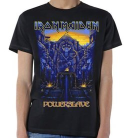 Iron Maiden Powerslave Text Shirt