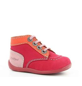 KICKERS BONBON FUCHSIA ORANGE ROSE KR3FO 18E446827-10+21
