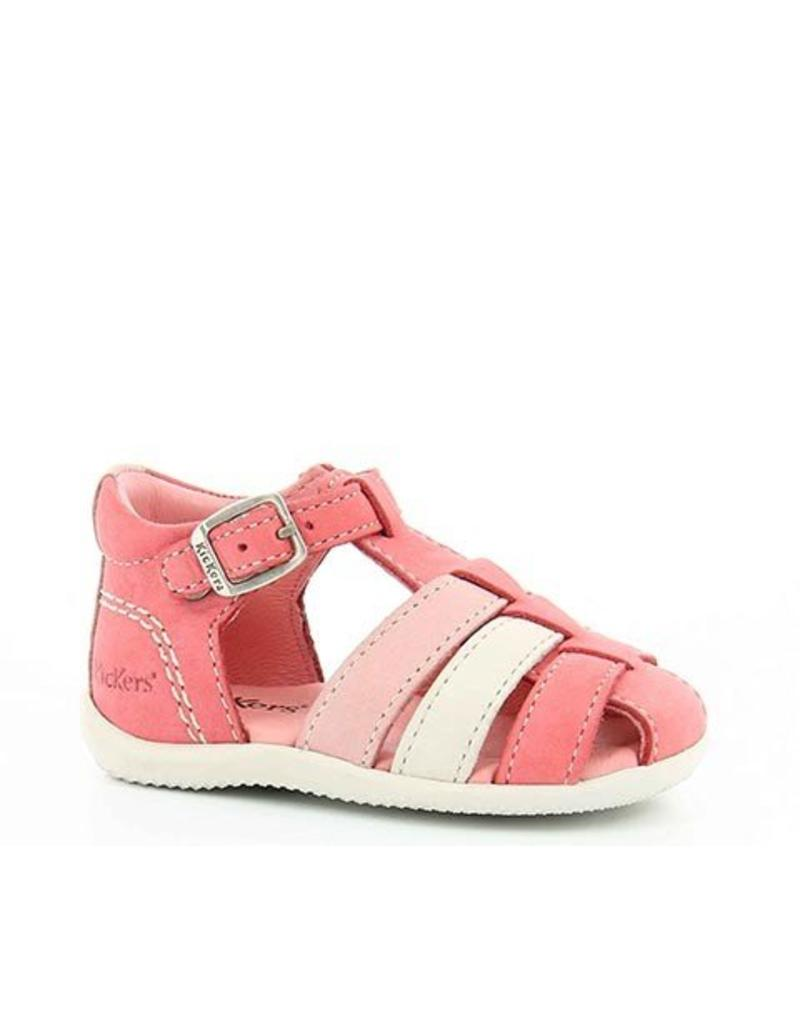 KICKERS BIGFLY ROSE BLANC ROSE CLAIR KR22RC 18E472064-10+133