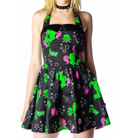 HELL BUNNY - I Heart Zombie Dress