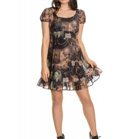 HELL BUNNY Renaissance Mini Dress