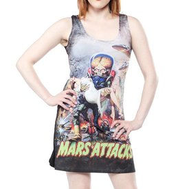 KREEPSVILLE 666 - Mars Attack B Movie Babe Tank Dress