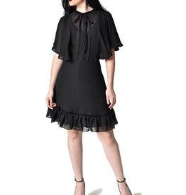 HELL BUNNY - Imperia Black Dress