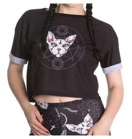 HELL BUNNY - Jessica Cat Top