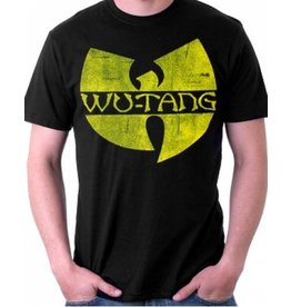 Wu-Tang Clan Yellow Logo T-Shirt