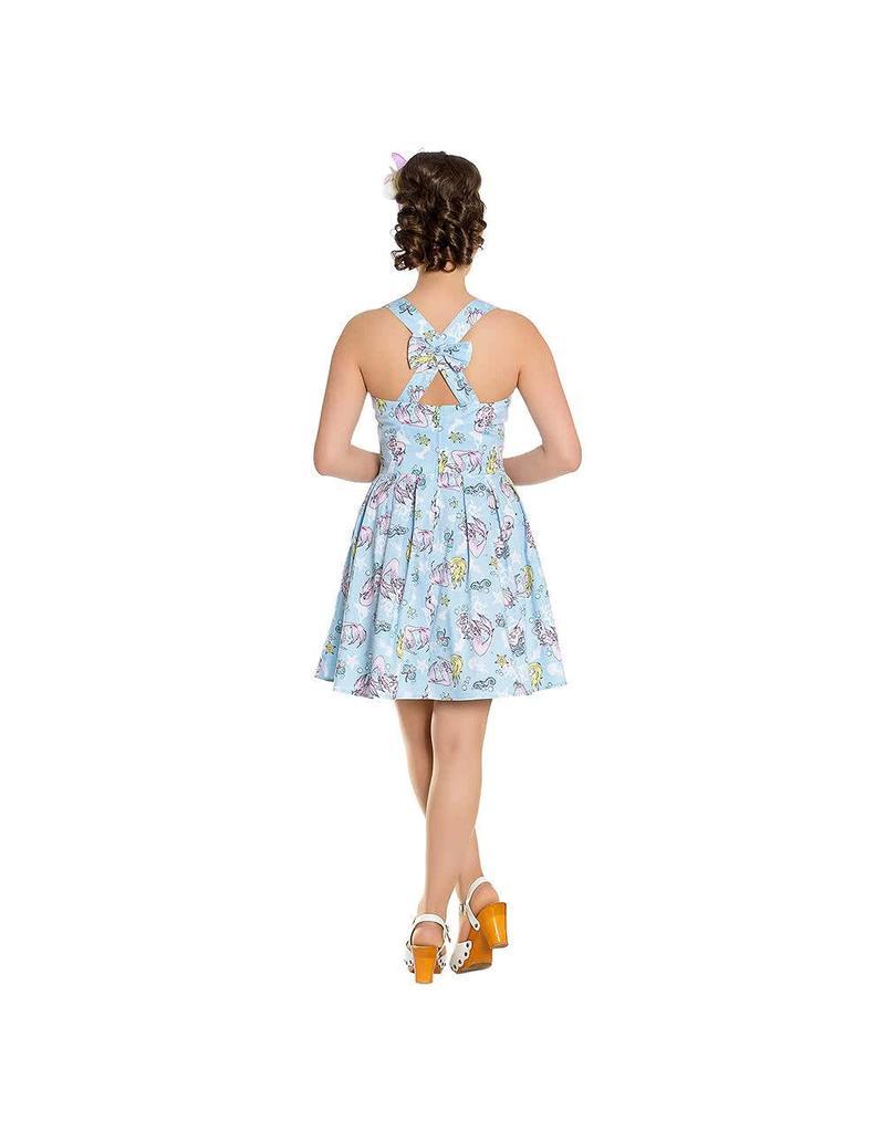 HELL BUNNY - Andrina Mini Blue Dress