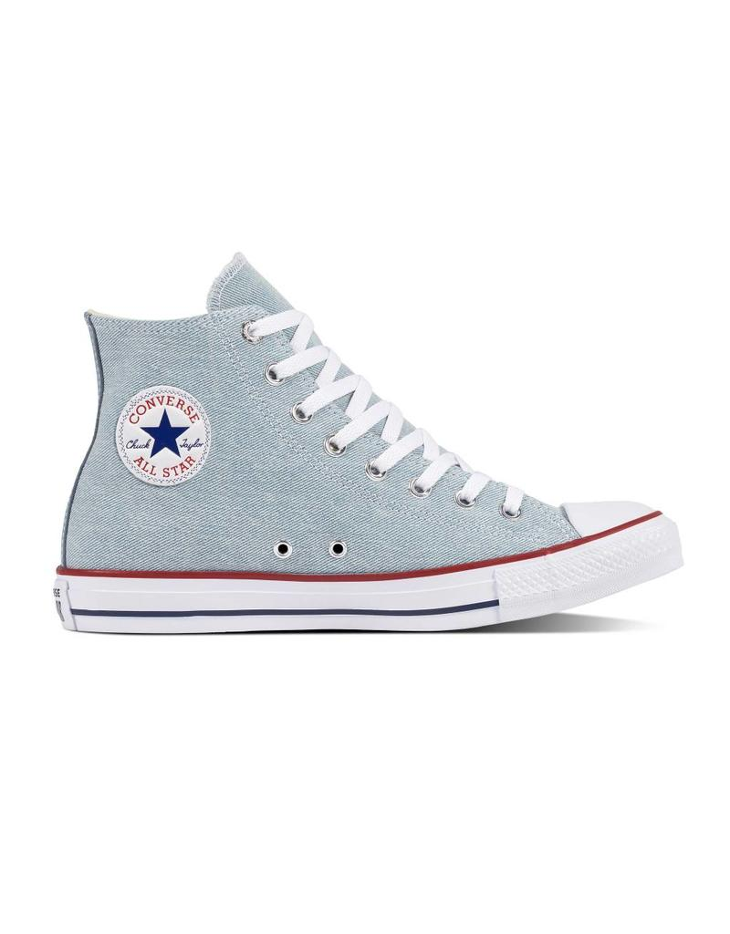 CONVERSE CHUCK TAYLOR HI LIGHT BLUE/WHITE/BROWN C18LIB-161491C