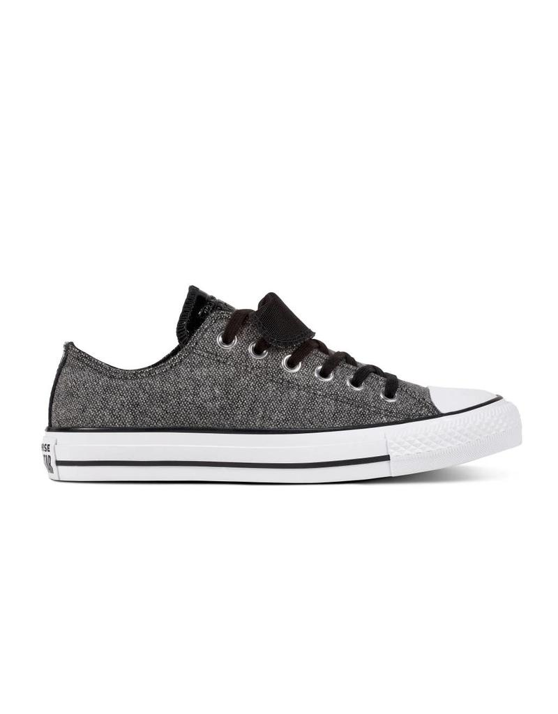 CONVERSE CHUCK TAYLOR DOUBLE TONGUE OX BLACK/WHITE/BLACK C12DB-562457C