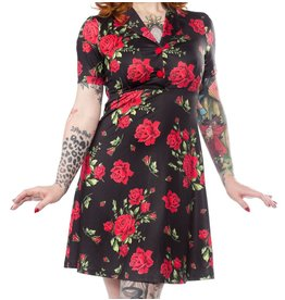 SOURPUSS - Rosie Rose Garden Dress
