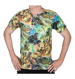 KREEPSVILLE 666 - Mars Attacks Dino Repeat T-Shirt