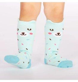 SOCK IT TO ME - Toddler Bearly Sprinkled Knee Socks