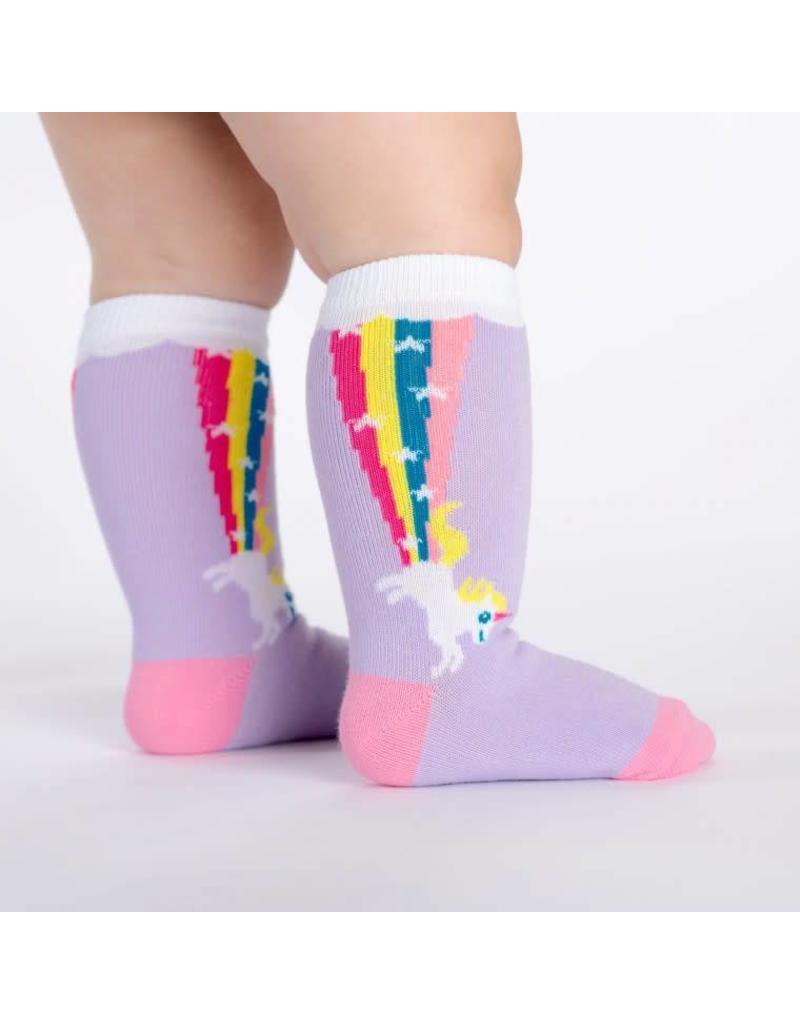 SOCK IT TO ME - Toddler Rainbow Blast Knee Socks