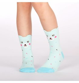 SOCK IT TO ME - Junior Bearly Sprinkled Crew Socks