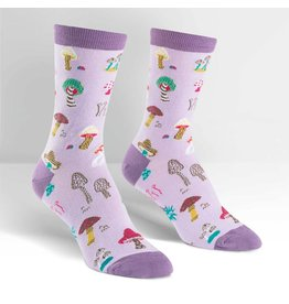 SOCK IT TO ME - Women's Fun Guys Crew Socks