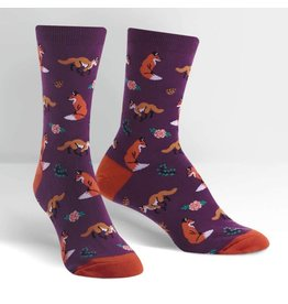 SOCK IT TO ME - Women's Fox Trot Crew Socks